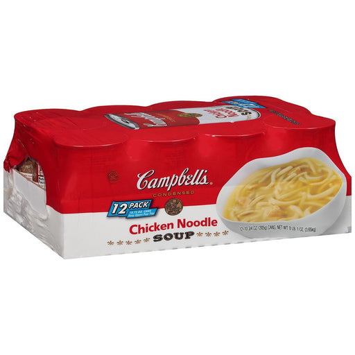 Campbell's Condensed Chicken Noodle Soup (10.75 oz. can, 12 ct.) - EZneeds