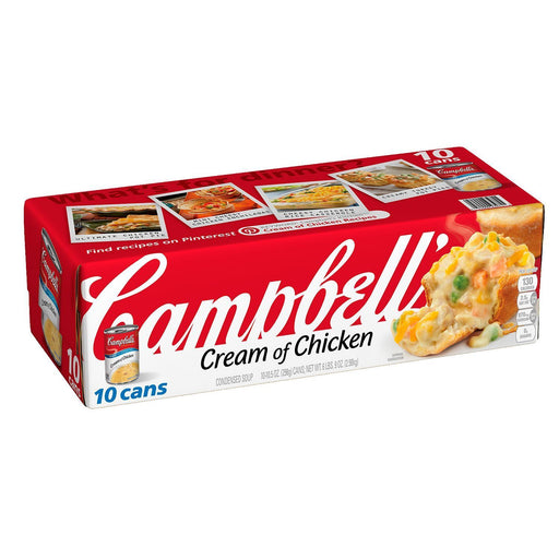Campbell's Condensed Cream of Chicken Soup (10.5 oz. ea., 10 pk.) - EZneeds