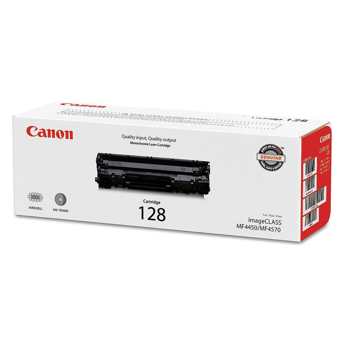 Canon 128 Toner Cartridge (Black, 2,100 Page Yield) - EZneeds