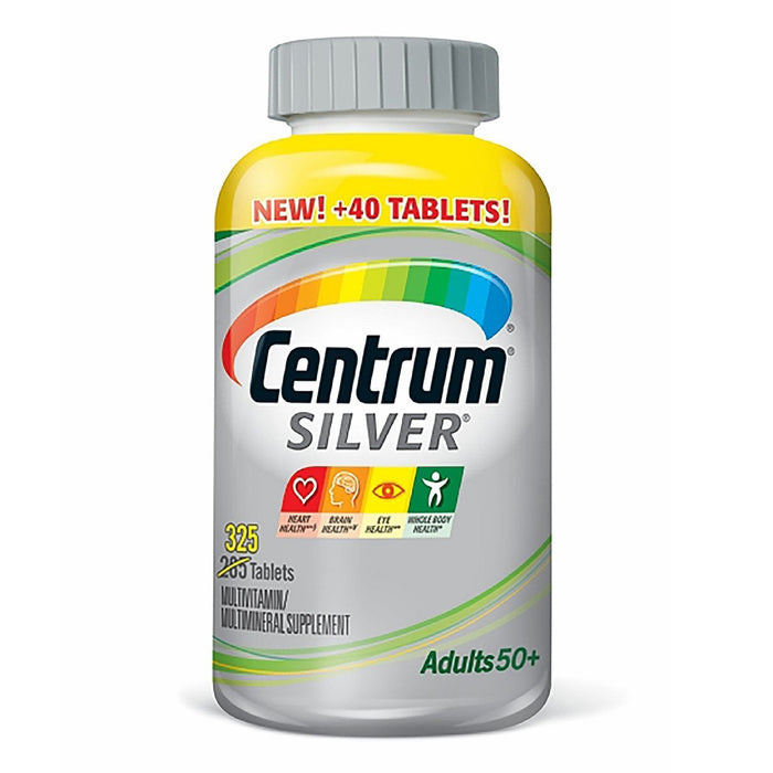 Centrum Silver Adults Multivitamin Tablets, 50+ (325 ct.) - EZneeds