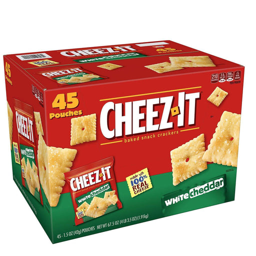 Cheez-It White Cheddar (1.5 oz., 45 ct.) - EZneeds