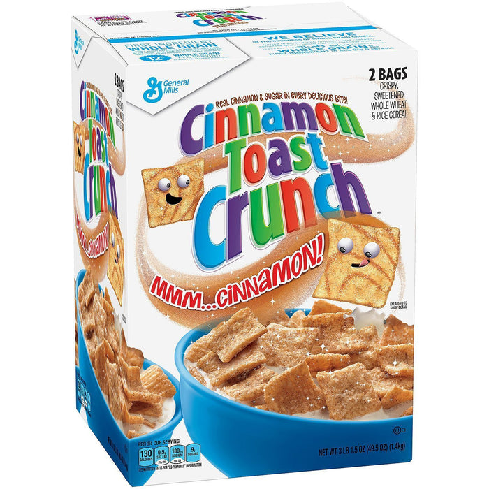 Cinnamon Toast Crunch (49.5 oz. box) - EZneeds