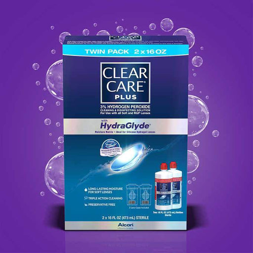 Clear Care Plus Cleaning & Disinfecting Solution (32 oz.) - EZneeds