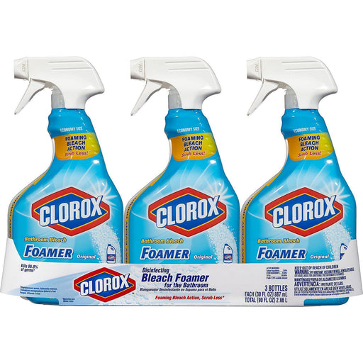 Clorox Bleach Foamer Bathroom Spray (30 oz., 3 pk.)  - EZneeds