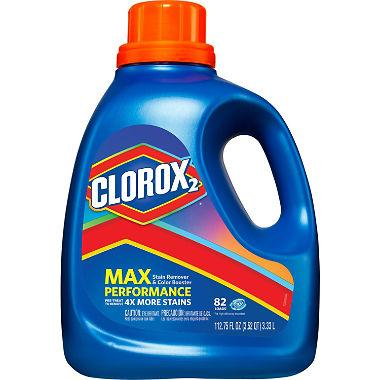 Clorox 2 MaxPerformance, Laundry Stain Remover & Color Booster (112.75 oz., 82 loads) - EZneeds