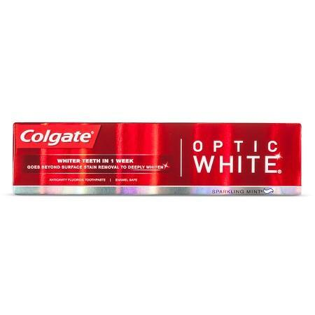 Colgate Optic White Toothpaste, Sparkling Mint (5 oz.) - EZneeds