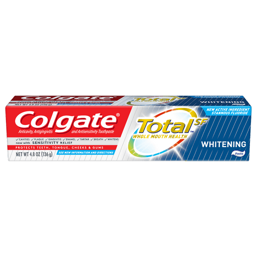 Colgate Total Whitening Toothpaste (6.3 oz.