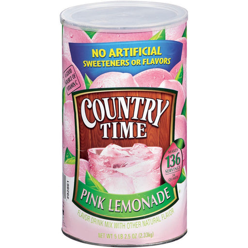 Country Time Pink Lemonade Mix (82.5 oz., 34 qts.) - EZneeds