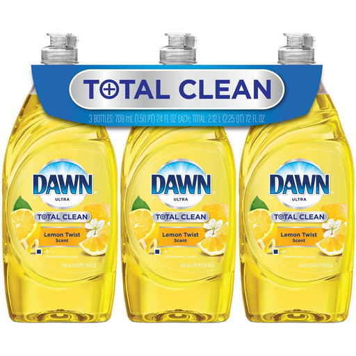 Dawn Total Clean Refreshing Lemon Twist (24 oz., 3 pk.)