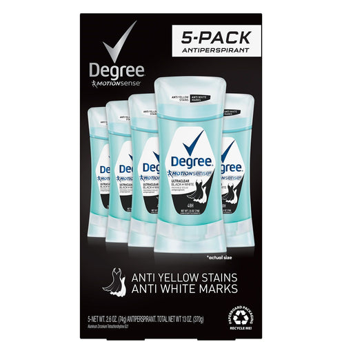Degree for Women UltraClear Black + White Antiperspirant (2.6 oz, 5 ct.) - EZneeds