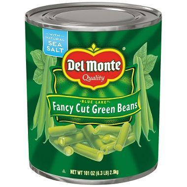 Del Monte Fancy Cut Green Beans (101 oz. can) - EZneeds