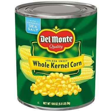 Del Monte Golden Sweet Whole Kernel Corn (106 oz. can) - EZneeds