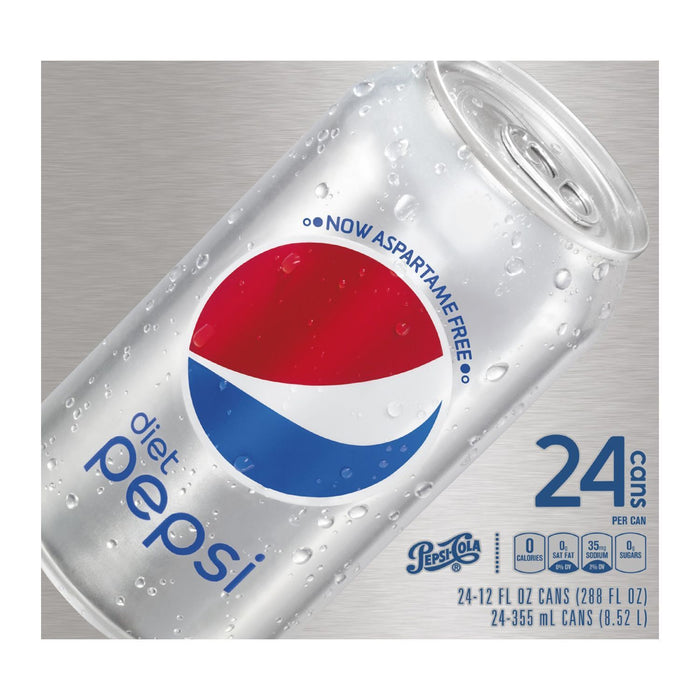 Pepsi Cola Diet (12 oz. cans, 24 ct.)