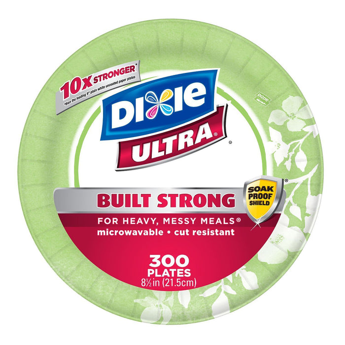 "Dixie Ultra Paper Plates, Heavyweight (8 1/2"", 300 ct.) - EZneeds"