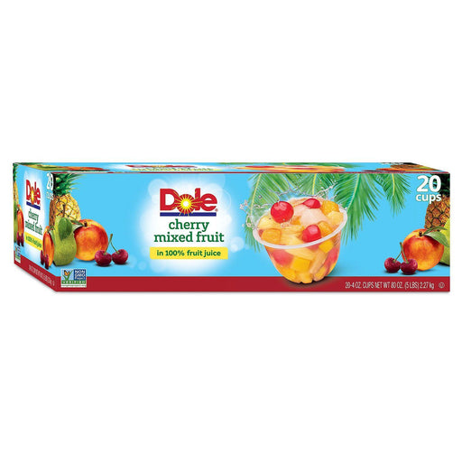 Dole Cherry Mixed Fruit (4 oz. cups, 20 ct.) - EZneeds