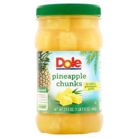 Dole Pineapple Chunks in 100% Pineapple Juice (20 oz.) - EZneeds
