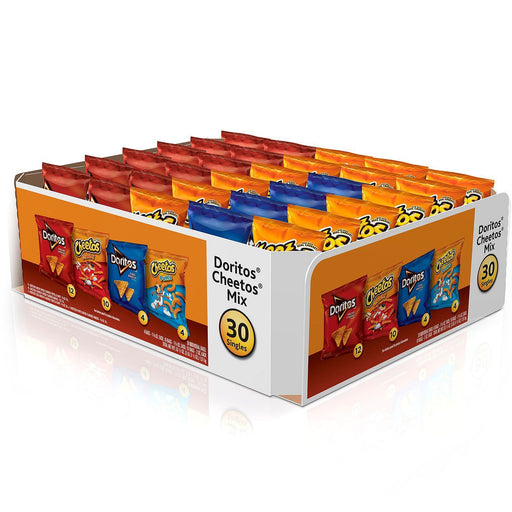 Doritos and Cheetos Snack Mix Variety Pack (30 ct.) - EZneeds