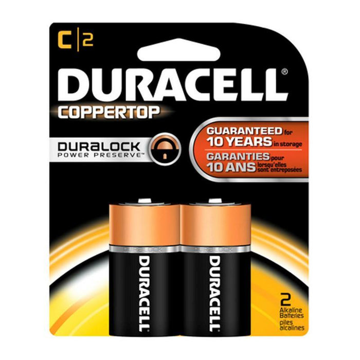 Duracell Coppertop Alkaline C Batteries (2 pk.)