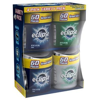 Eclipse Bottle Variety Pack Gum (4 bottles)