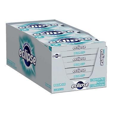 Eclipse Polar Ice Sugar-Free Gum (18 pieces, 12 pk.)