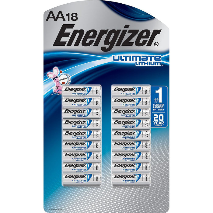 Energizer Ultimate Lithium AA Batteries (18 pk.)