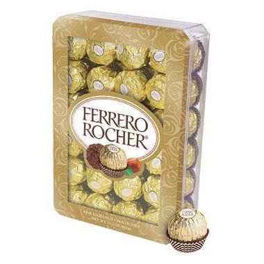 Ferrero Rocher Hazelnut Chocolates (21.1 oz., 48 Ct.)