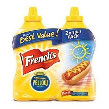 French's Classic Yellow Mustard (30 oz., 2 ct.)