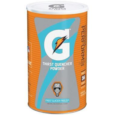 Gatorade Thirst Quencher Powder, Frost Glacier Freeze (makes 36 quarts)