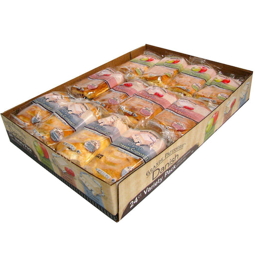 Grande Patisserie Variety Pack Danish (3 oz., 24 ct.)