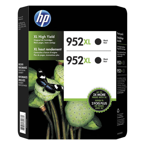HP 952XL N9K29BN High-Yield (Black, 2 pk.)