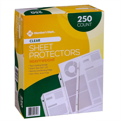 Heavyweight Sheet Protectors, Clear (250 ct.)