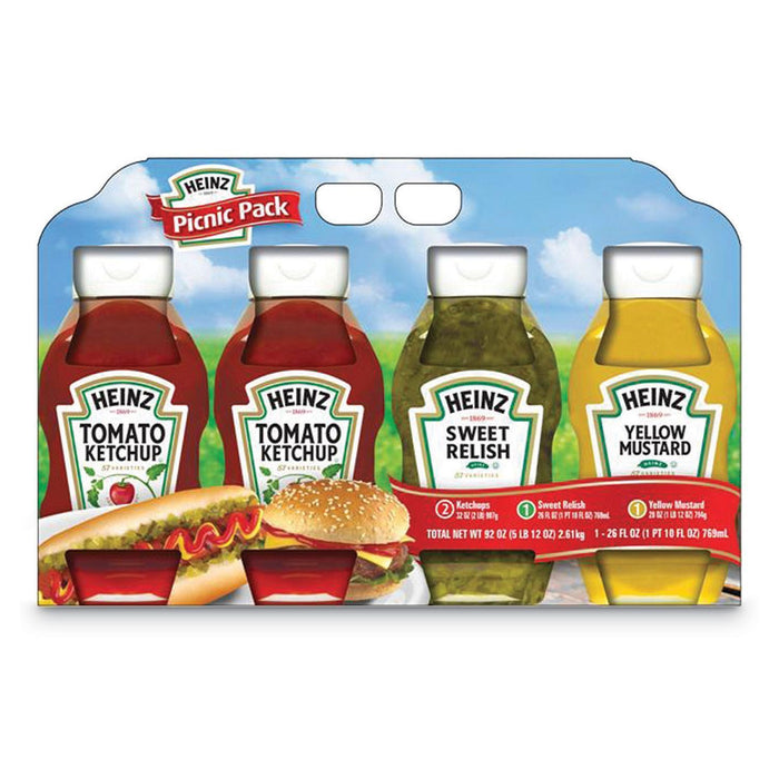 Picnic Pack, Heinz (4 Ct.)