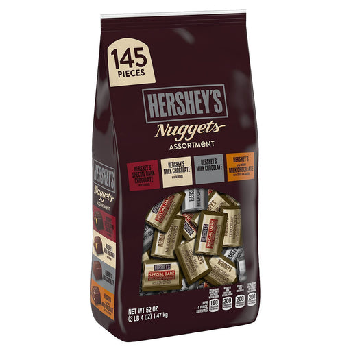 Hershey's Assorted Chocolate Nuggets (52 oz., 145 ct.)