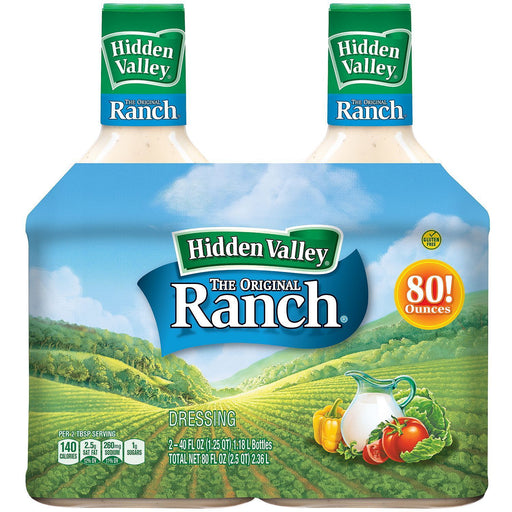 Hidden Valley Original Ranch Dressing (40 oz., 2 pk.)