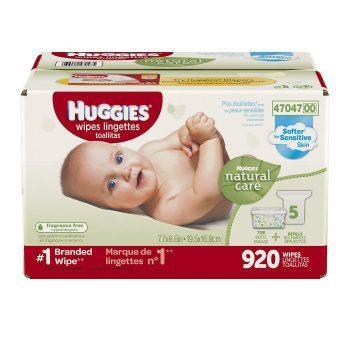 Huggies Natural Care Baby Wipes (920 ct.)