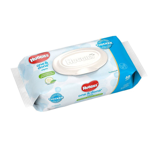 Huggies One & Done Baby Wipes, Scented (48 ct.)
