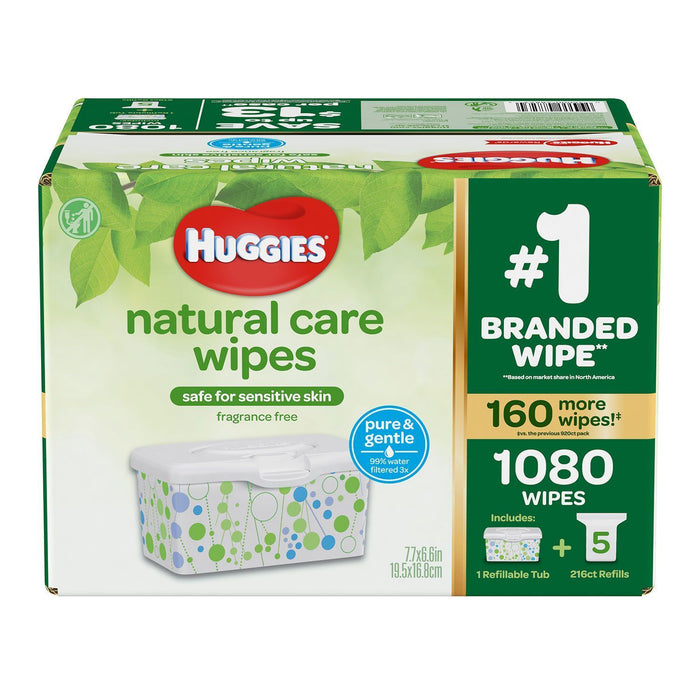 Huggies Natural Care Baby Wipes (1080 ct.)