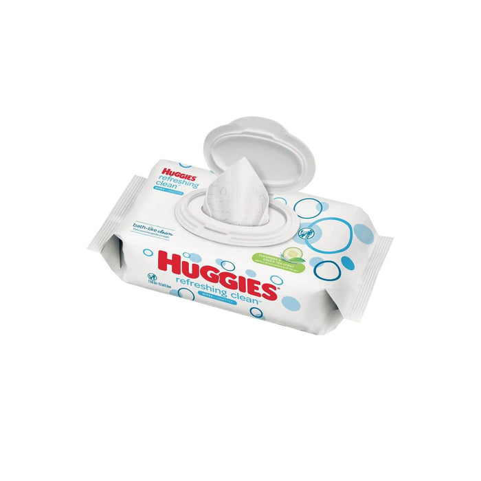 Huggies Refreshing Clean Baby Wipes, Disposable Soft Pack (48 ct.)