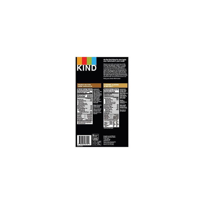 KIND Variety (18 ct.) Nutrition Facts