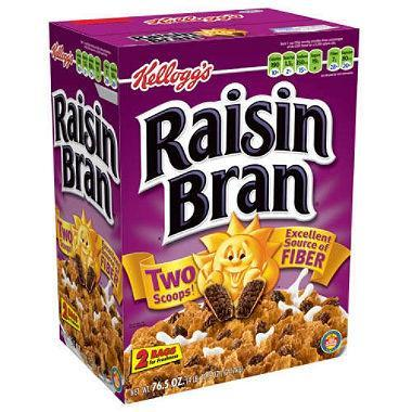 Kellogg's Raisin Bran (76.5 oz.)