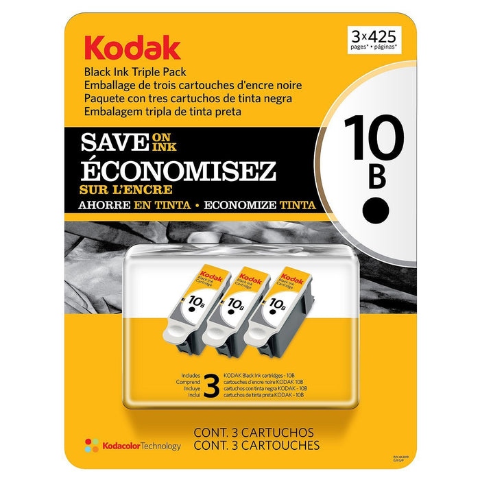 Kodak 10 Series Ink Cartridge (Black, 3 pk., Page Yield 425)