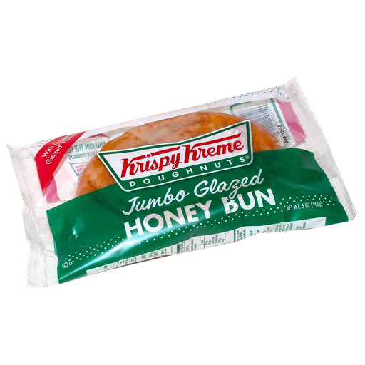 Krispy Kreme Jumbo Glazed Honey Bun (45 oz., 9 ct.) - EZneeds