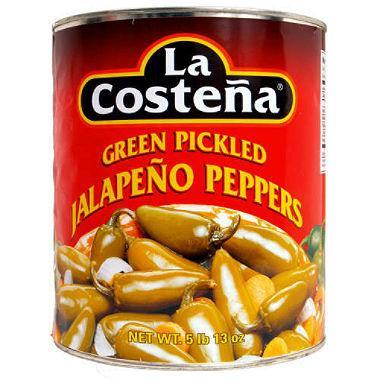 La Costeña Whole Jalapeño Peppers (93 oz.)