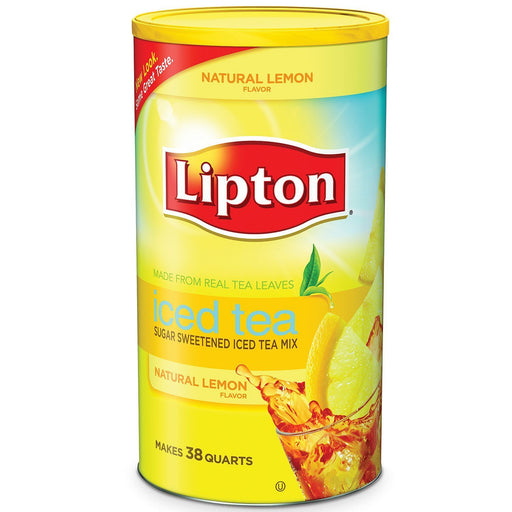 Lipton Lemon Iced Tea with Sugar Mix (38 quarts)