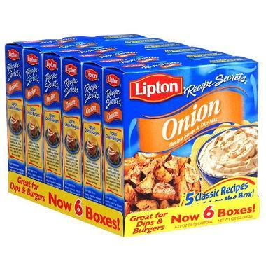lipton onion recipe soup dip mix 2 oz