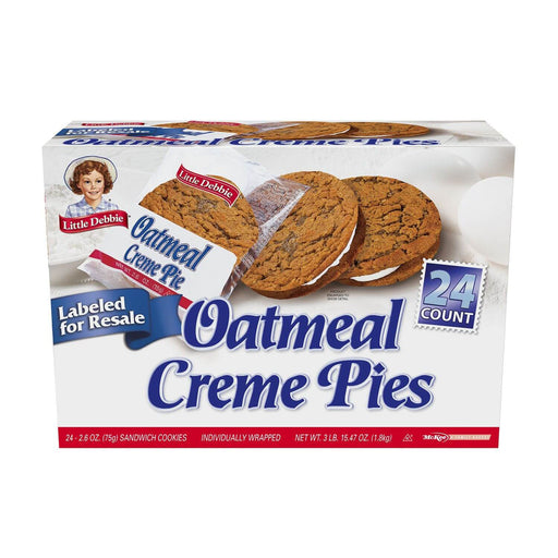 Little Debbie Oatmeal Creme Pie Club Pack (24 ct.) - EZneeds