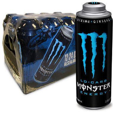 Monster Lo-Carb Mega (24 oz., 12 pk.)