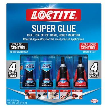 Loctite UltraGel/Ultra Liquid Super Glue (4 pk.)
