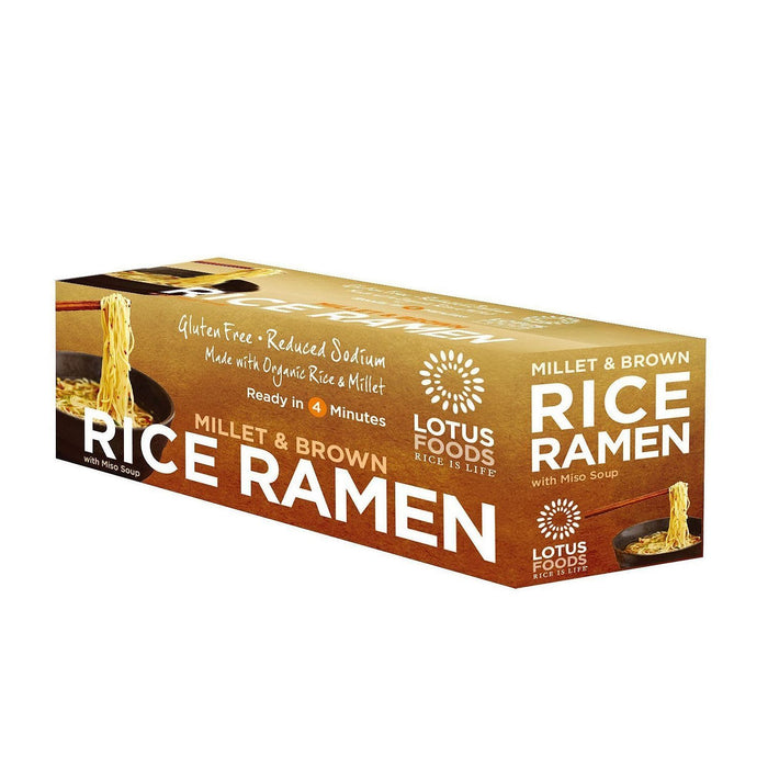 Lotus Foods Organic Millet and Brown Rice Ramen (2.8 oz., 10 pk.)