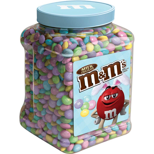 M&M'S Milk Chocolate Easter Candy Jar (62 oz.)